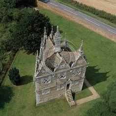 Rushton Triangular Lodge, Kettering, Northamptonshire
