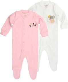 Funkoos Sheep & Koala Organic Baby Sleepsuits « Clothing Impulse