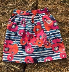 Image of Poppies Tea Party Skirt Party Skirt, Tea Party, Poppies, Trunks, Handmade Gifts, Skirts, Swimwear, Image, Fashion