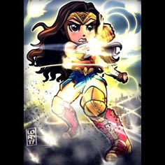 """""""Who Needs Sharp Edges?"""" @gal_gadot @wonderwomanfilm #pattyjenkins Absolutely loved Wonder Woman!!! Everything I could have wished for in a standalone film and more!!! So eager to see future movies featuring more Wonder Woman..."""