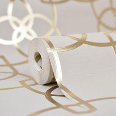 Muriva Precious Silks Marrakesh Wallpaper Gold / Champagne - Wallpaper from I love wallpaper UK