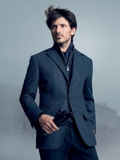 b359de8df0c7 Andres Velencoso - Corneliani Look Book Photography by Marino Parisotto