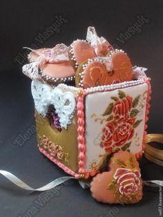 """набор пряников к Дню святого Валентина""""Для тебя..."""" - пряники в подарок"""