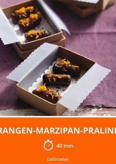 Orangen-Marzipan-Pralinen - smarter - Zeit: 40 Min. | eatsmarter.de