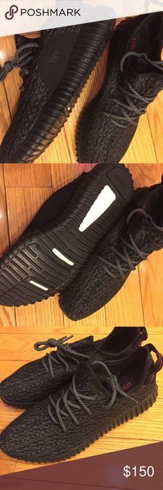 26fb159bbe663 adidas Yeezy Boost Pirate 350 adidas Yeezy Boost 350 Pirate Black and gray.