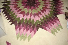 Fiber art before and beyond: Star Quilt Tutorial