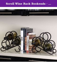 Charlton Home Speedway 2 Piece 6 Bottle Tabletop Wine Rack Set Contemporary Wine Racks, I Heart Organizing, Buy Boxes, Wine Bottle Rack, Metal Candle Holders, Wine Storage, Unique Home Decor, Bars For Home, Home Kitchens