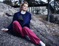 Guinevere van Seenus by Josh Ollins for Vogue UK August 2012