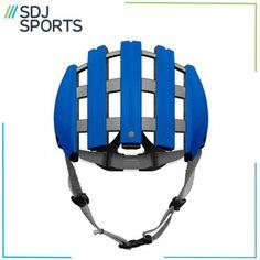 Carrera Foldable Bike Helmet - Blue