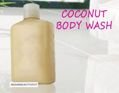 Natural Coconut Body Wash