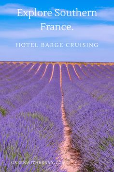 Hotel barge cruising is one of the best ways to explore the landscape of southern France. Lavender fields, rosé and delicious cuisine awaits. European Travel Tips, Travel Tips For Europe, European Destination, Travel Abroad, Travel Destinations, Small Ship Cruises, Slow Travel, Family Travel, Southern France