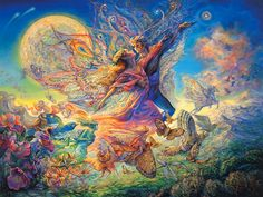 imagination art | Art Of Imagination : Mystical Fantasy Paintings of Josephine Wall 1024 ...