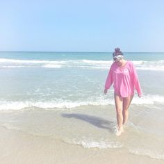 Blogger Corbin Tate, from Classy South Blog, is rocking our Boardwalk Jersey beachside. We love it!
