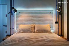 Tête de lit éclairé