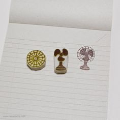 [Daily Stamp Project]  Day196 - Fan www.rianastamp.com  #스탬프 #핸드메이드 #지우개스탬프…