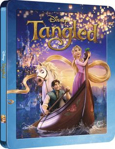 Tangled 3D - Zavvi Exclusive Limited Edition Steelbook (The Disney Collection #28) (Includes 2D Version) Blu-ray