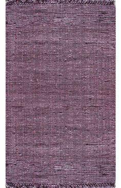 Purple Jute Rug from RugsUSA