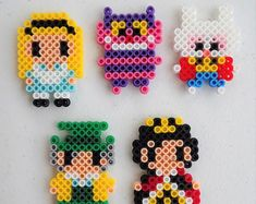 Easy Perler Bead Patterns, Perler Bead Templates, Diy Perler Beads, Perler Bead Art, Pearler Beads, Fuse Beads, Loom Patterns, Beading Patterns, Perler Bead Designs