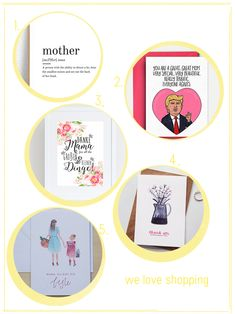 Beste Mama, Partys, Etsy, Ideas For Gifts, Thanks Card, Hand Made Gifts, Friends