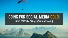 #Socialmedia marketing and the 2016 Rio Olympic Games...