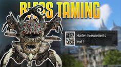 Bless Online Taming - Big Ugly Spider - Hunter measurements