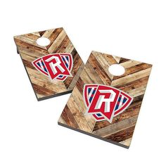 The Collegiate Cornhole Bag Toss Set brings competitive fun to tailgates, the beach and parties. Sturdy, compact bag toss game with scratch-resistant melamine laminate surface. Foldable wooden legs allow you to set up and play anywhere. Radford University, Bag Toss Game, Wooden Leg, Cornhole, Compact, Surface, Parties, College, Kid