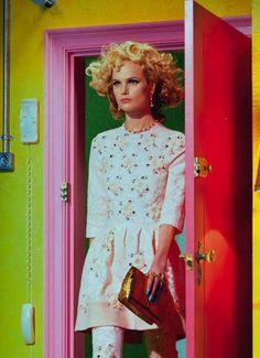 It's All About Attitude by Miles Aldridge for Vogue Italia