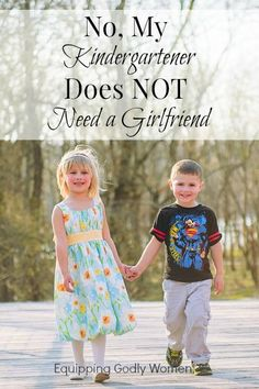 Great article and I agree! Let kids be kids! Don't ask him if he has a girlfriend, he needs his boys and be part of the guys !