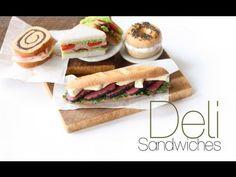 Créer des sandwichs en pâte polymère