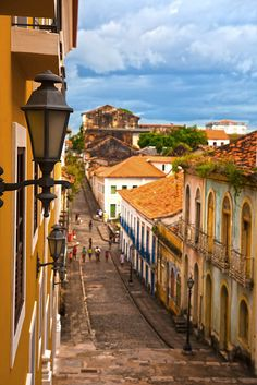 sao luis of maranhao    street of the historic center of the city of sao luis of maranhao in brazil
