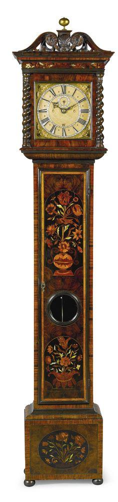 A Louis XIII gilt brass frame mirror, 17th C Antique Mirrors