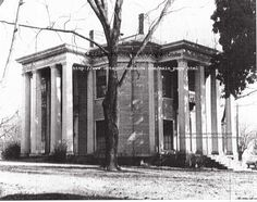 Athens, AL. Octagon house. Built 1859. Now gone. http://www.octagon.bobanna.com/main_page.html