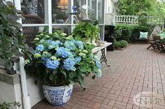 Mary Carol Garrity Spring Home Tour #nellhills #blueandgreen #spring