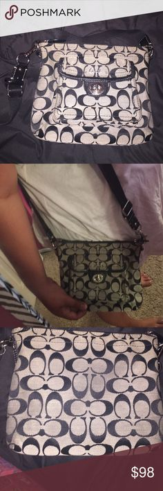 COACH CROSS-BODY 100% AUTHENTIC NWOT!! NOT EVEN USED/WORN!! Its a great and beautiful bag! ❤️   Its in amazing condition! Coach Bags Crossbody Bags