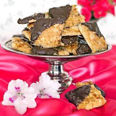 Kakor med läcker smak av tosca och choklad.