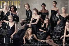 """Vanity Fair made a powerful statement on the cover of its 2016 """"Hollywood"""" issue - Vox"""