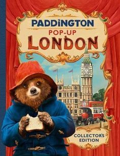 Order Paddington 2 - Paddington's London The Movie Pop-Up Book by Michael Bond from Sanitys range of Books. See our great Books selection here. Paddington Bear Books, Oso Paddington, Pop Up London, Big Ben, Books For Boys, Childrens Books, Children's Pop Up Books, Teddy Bear Cartoon, Point Of Sale