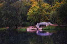 осень в парке... - Гатчина