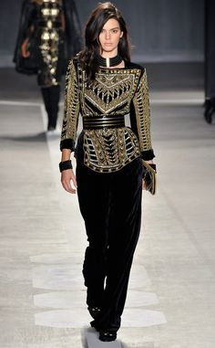 Balmain x H&M from Kendall Jenner's Runway Shows
