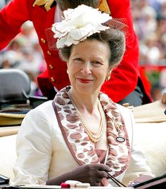 Princess Anne ~~ Anne, Princess Royal, is Queen Elizabeth II and Prince Philip's only daughter. At the time of her birth on Aug. 15, 1950, she was third in line to the throne; as of 2013, however, she's 10th. From 1973 to 1992, she was married to Captain Mark Phillips, with whom she had two children, Peter Phillips and Zara Phillips. Since 1992, she has been married to Vice Admiral Sir Timothy Laurence.