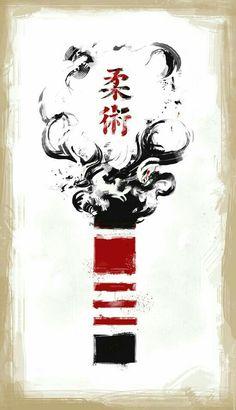 Jiu-Jitsu Black Belt by Plietz - Jiu Jitsu 柔術 ·«ǂ Tattoo Jiu Jitsu, Bjj Tattoo, Jiu Jitsu Black Belt, Jiu Jitsu Belts, Ju Jitsu, Judo, Qi Gong, Samurai Art, Brazilian Jiu Jitsu