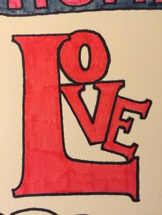 """Love this one 3"""" by 4"""""""