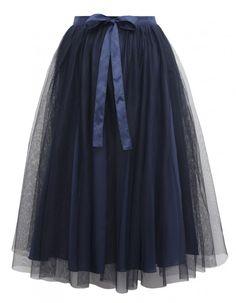 Spódnica Bleu Marine FrouFrou