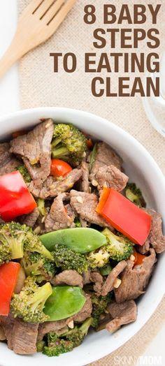 8 Clean Eating Tips