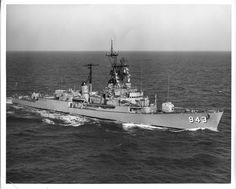 USS Blandy (DD-943), my 2nd ship. I was on it from 1976-1978, as the gun captain of the forward gun mount.