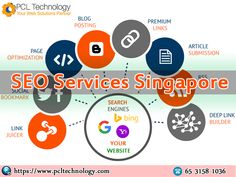 Earn higher ranking and performance based SEO services with PCL Technology in Singapore. Call us at: +65 3158 1036 #SEOServicesSingapore