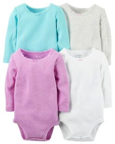 f8cd4848bc6 Display product reviews for 4-Pack Long-Sleeve Bodysuits Bodysuits Online