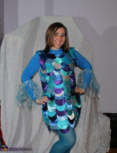 Rainbow Fish - Homemade Halloween Costume @Lisa Phillips-Barton Phillips-Barton Phillips-Barton Phillips-Barton Monaco this reminded me of u lol