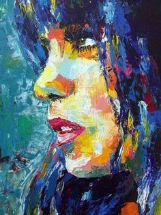 Blue Portrait by ~SungjunKim on deviantART