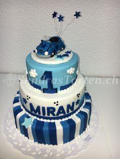 Miran fiiret sin 1. Geburtstag. Happy Birthday